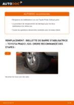 Toyota Land Cruiser 80 tutoriel de réparation et de maintenance
