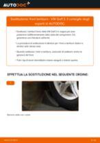 Come cambiare tamburo freno su VW Golf 3 - Guida alla sostituzione