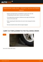 How to change brake drum on VW Golf 3 – replacement guide