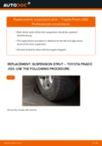Online manual on changing Steering Knuckle Bushing yourself on PEUGEOT J9 Bus