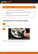 Byta hjullager fram på VW Golf 3 – utbytesguide