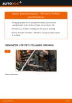 DIY-manual för byte av Dammskydd Stötdämpare & Genomslagsgummi i VW PASSAT 2020