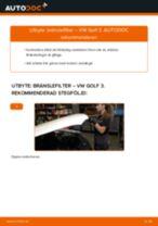 DIY-manual för byte av Bränslefilter i VW LT