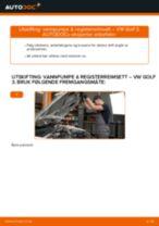 Slik bytter du vannpumpe & registerreimsett på en VW Golf 3 – veiledning