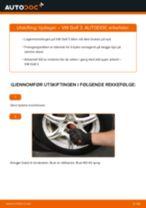 Slik bytter du hjullager fremme på en VW Golf 3 – veiledning