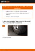 Slik bytter du fjærende ben fremme på en Toyota Prado J120 – veiledning