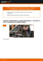 CONTITECH CT957K2 varten GOLF III (1H1) | PDF vaihto-ohje