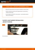 Kuinka vaihtaa jousi taakse VW Golf 3-autoon – vaihto-ohje