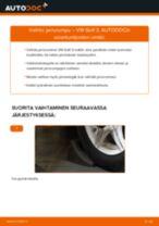 Kuinka vaihtaa jarrurumpu VW Golf 3-autoon – vaihto-ohje
