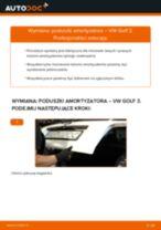 Jak wymienić poduszka amortyzatora tył w VW Golf 3 - poradnik naprawy