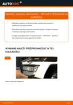 Poradnik krok po kroku w formacie PDF na temat tego, jak wymienić Zawieszenie w VW GOLF III (1H1)