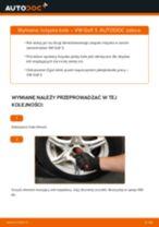 Jak wymienić łożysko koła przód w VW Golf 3 - poradnik naprawy