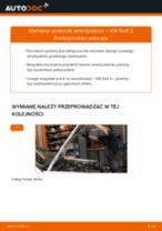 Jak wymienić poduszka amortyzatora przód w VW Golf 3 - poradnik naprawy