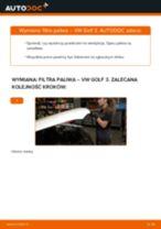 Jak wymienić filtr paliwa w VW Golf 3 diesel - poradnik naprawy