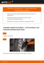 Jak wymienić i wyregulować Amortyzatory TOYOTA LAND CRUISER: poradnik pdf
