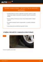 Jak vyměnit přední a zadní Brzdovy buben VW udělej si sám - online návody pdf