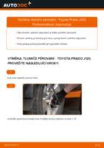 Jak vyměnit zadní tlumiče pérování na Toyota Prado J120 – návod k výměně