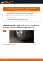 Jak vyměnit přední pérovací jednotka na Toyota Prado J120 – návod k výměně