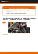 Kako zamenjati avtodel vodna črpalka & kit zobatega jermena na avtu VW Golf 3 – vodnik menjave