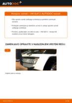 Kako zamenjati avtodel vzmeti zadaj na avtu VW Golf 3 – vodnik menjave