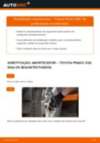 Mudar Amortecedor TOYOTA LAND CRUISER: manual técnico