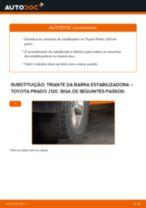 Aprenda a corrigir o problema do Tirante da Barra Estabilizadora traseiro e dianteiro TOYOTA