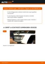 Hátsó futómű rugó-csere VW Golf 3 gépkocsin – Útmutató