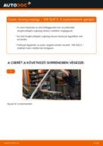 Elülső toronycsapágy-csere VW Golf 3 gépkocsin – Útmutató