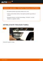 Kaip pakeisti VW Golf 3 spyruoklės: galas - keitimo instrukcija