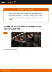 Wie der Wechsel durchführt wird: Luftfilter 2.8 VR6 Golf 3 tauschen