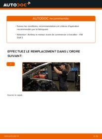 Comment effectuer un remplacement de Filtre à Air sur 2.8 VR6 VW Golf III