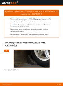 Jak przeprowadzić wymianę: Bęben hamulcowy w VW GOLF