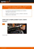 Comment changer : bobines d'allumage sur VW Golf 5 - Guide de remplacement