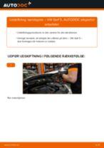 Udskift tændspole - VW Golf 5 | Brugeranvisning
