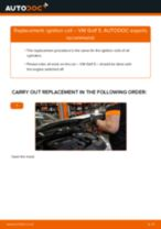 How to change ignition coil on VW Golf 5 – replacement guide