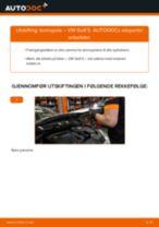 Montering Aksialledd VW GOLF V (1K1) - steg-for-steg manualer