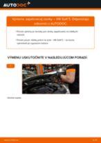Krok za krokom příručka na opravu VW SHARAN