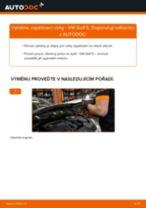 Jak vyměnit a regulovat Zapalovaci civka VW GOLF: průvodce pdf
