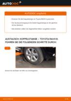 Tipps von Automechanikern zum Wechsel von TOYOTA Toyota Auris e15 2.0 D-4D (ADE150_) Koppelstange