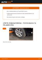 VAICO V70-0004 för RAV 4 III (ACA3_, ACE_, ALA3_, GSA3_, ZSA3_)   PDF instruktioner för utbyte