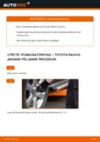 Laga Stabilisatorstag TOYOTA RAV4: verkstadshandbok