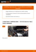 DIY-manual for utskifting av Dynamo i SSANGYONG RODIUS 2020