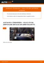 Anleitung: Volvo V70 SW Zündkerzen wechseln