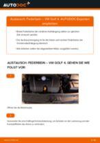 Anleitung: VW Golf 4 Federbein vorne wechseln
