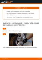 Anleitung: VW Golf 4 Koppelstange vorne wechseln