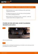 Wie Fahrwerksfedern VW GOLF wechseln und einstellen: PDF-Leitfaden