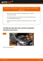 Stoßdämpfer auswechseln BMW 3 SERIES: Werkstatthandbuch