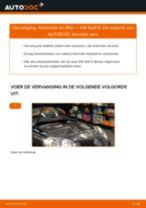 Vervang het Oliefilter motor van de VW GOLF V (1K1) met onze online pdf-handleiding