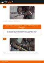 Wanneer Ruitenwisserbladen VOLVO V70 II (SW) veranderen: pdf tutorial