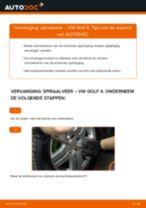 Spiraalveer veranderen VW GOLF: gratis pdf